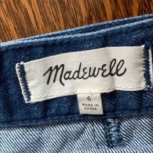 Madewell Skirts - MADEWELL denim wrap skirt size 6